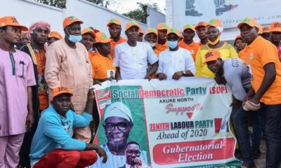SDP, ZLP Candidate Alfred Agboola Ajayi