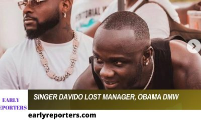 Davido Lost His Manager, Obama DMW
